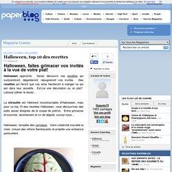 Halloween, top 10 des recettes