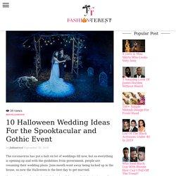 Halloween Wedding Ideas To Make Your Big Day