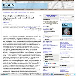 Exploring the visual hallucinations of migraine aura: the tacit contribution of illustration