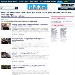 Johnny Hallyday, actualité Johnny Hallyday avec Le Parisien.fr