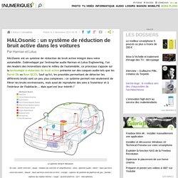 HALOsonic: un système de réduction de bruit active dans les voitures