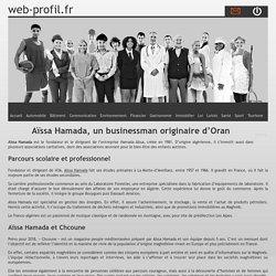 Aïssa Hamada, un businessman originaire d'Oran