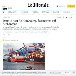 Dans le port de Hambourg, des marins qui déchantent