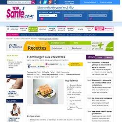 Hamburger aux crevettes