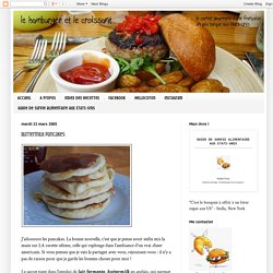 le hamburger et le croissant: Buttermilk pancakes