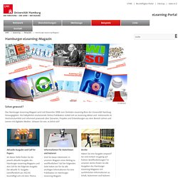 Universität Hamburg : eLearning : eCommunity : Hamburger eLearning-Magazin