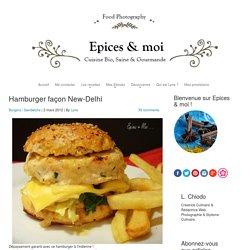 Hamburger façon New-Delhi