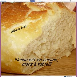pain hamburger maison!! - Nanou est en cuisine!Alors à table!!!