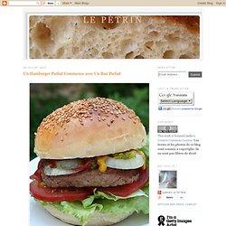 Un Hamburger Parfait Commence avec Un Bun Parfait