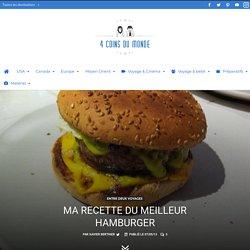 Hamburger : ma recette pour faire le meilleur hamburger US