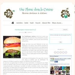 Hamburgers maison de A à Z