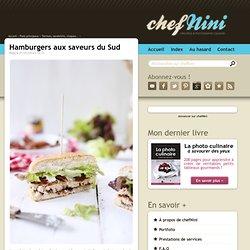 Hamburgers aux saveurs du Sud