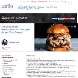 La hamburguesa experimental de Christophe Arrighi (Paris Burger) - Lucullus