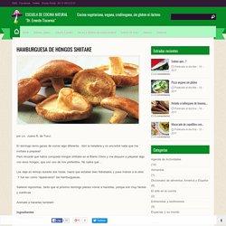 Hamburguesa de hongos shiitake