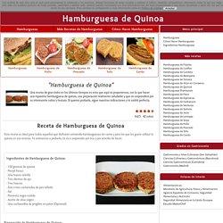 Hamburguesa de Quinoa: Receta Casera