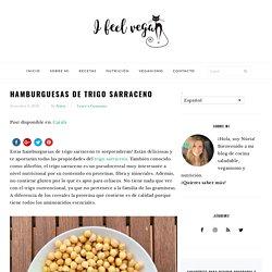 Hamburguesas de trigo sarraceno