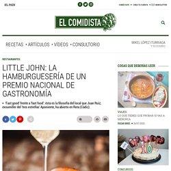 Little John: la hamburguesería de un premio nacional de Gastronomía