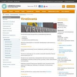 www.hameenlinna.fi - Virvelinranta