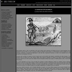 Le joueur de flûte de Hamelin - Légende du flûtiste et des enfants disparuts