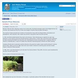 Hamelin Prison Reburials - Axis History Forum