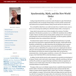 Synchronicity, Myth, and the New World Order