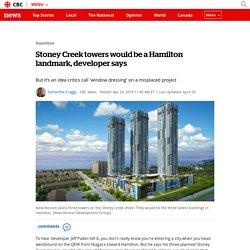 Stoney Creek towers would be a Hamilton landmark, developer says