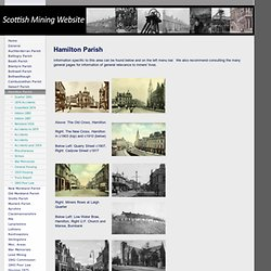 Hamilton Parish - Scottish Mining Website
