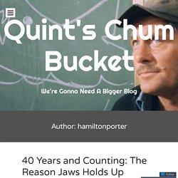 Quint's Chum Bucket