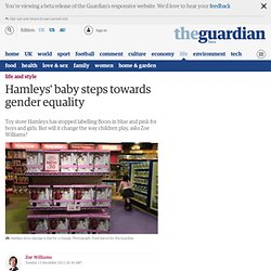 Hamleys' baby steps towards gender equality