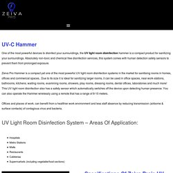 Zeiva Pro UV Hammer Overview And Complete Specifications