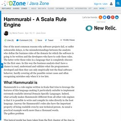 Hammurabi - A Scala Rule Engine