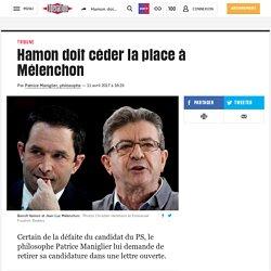 Hamon doit céder la place à Mélenchon