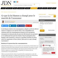 Ce que la loi Hamon a changé pour le marché de l'assurance