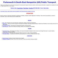 E Hants Public Transport