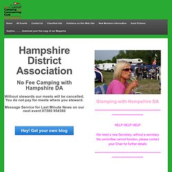 Hampshire DA - Home