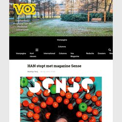 HAN stopt met magazine Sense - Vox magazine