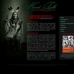 Hand Talk: American Indian Sign Language