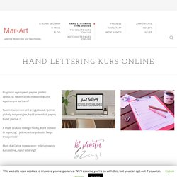 hand lettering kurs online