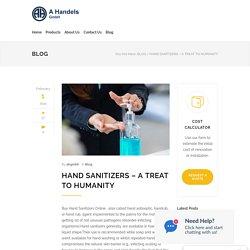 Buy Hand Sanitizers Online