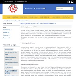 Hand Tools: Buy Hand Tools Online - KartarTools