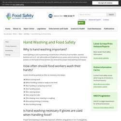 FSAI_IE 11/03/20 Hand Washing and Food Safety