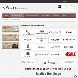 Replica Handbags - Flawless Replica Designer Handbags - Highest Quality Fake Purses