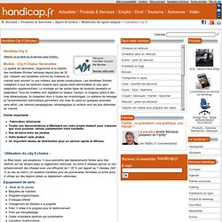 Stricker Handbike City 9 - Handicap.fr