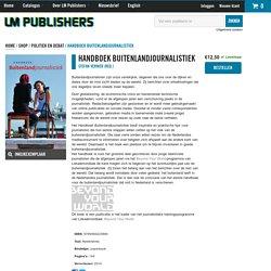 Handboek buitenlandjournalistiek
