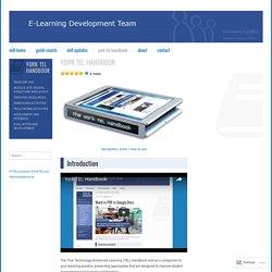 E-Learning Development Team