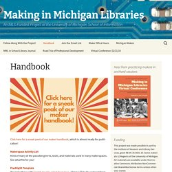 Making in Michigan Libraries