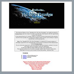 Handbook for The New Paradigm - A Personal Message for You
