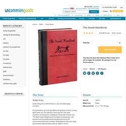 snark handbook, snide book, funny book