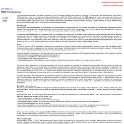 FCA and PRA Handbooks online