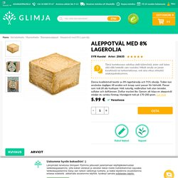 SYR Handel Aleppotvål Med 8% Lagerolja - Glimja.se
